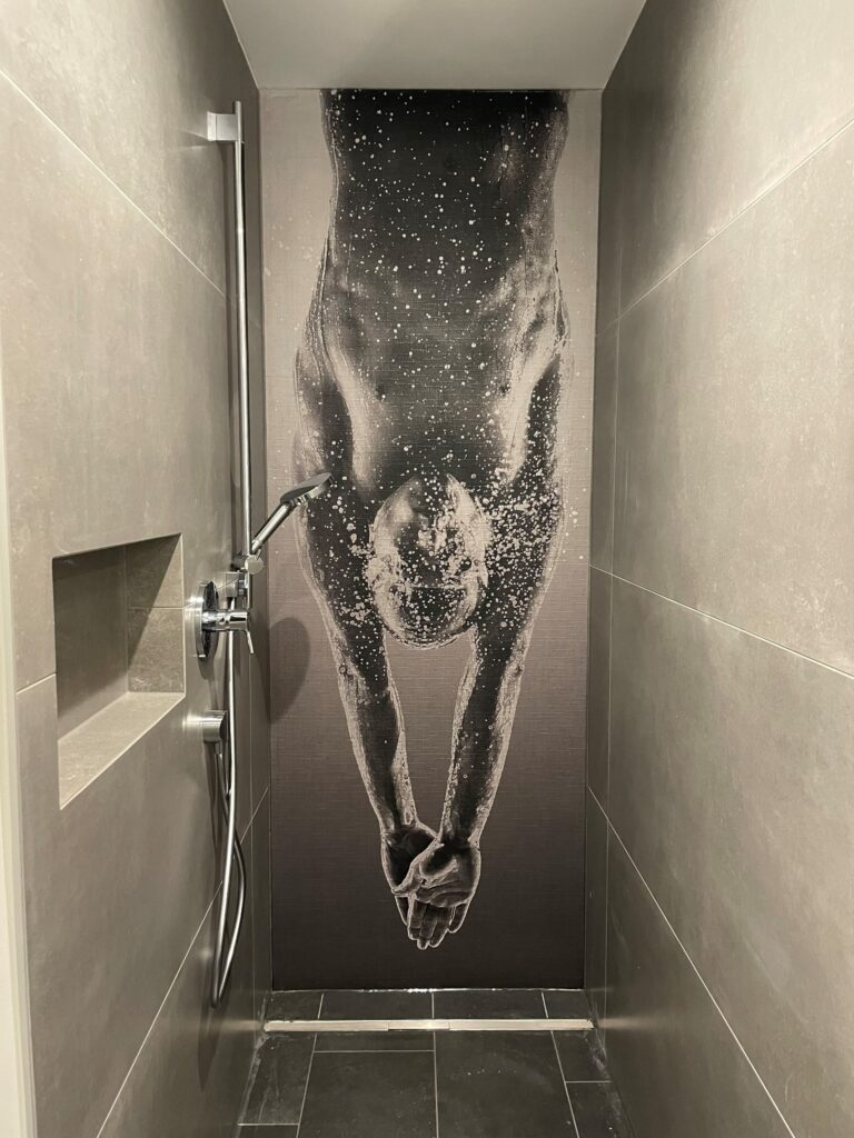 T-Räume Dusche